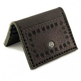 Copcha Kredi Kartlık Siyah Deri